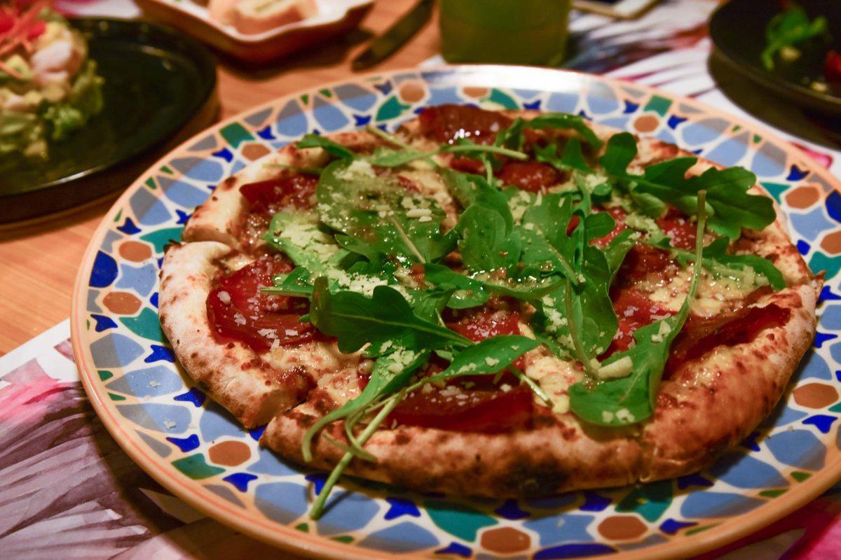 Pizza Bresaola e Rucola