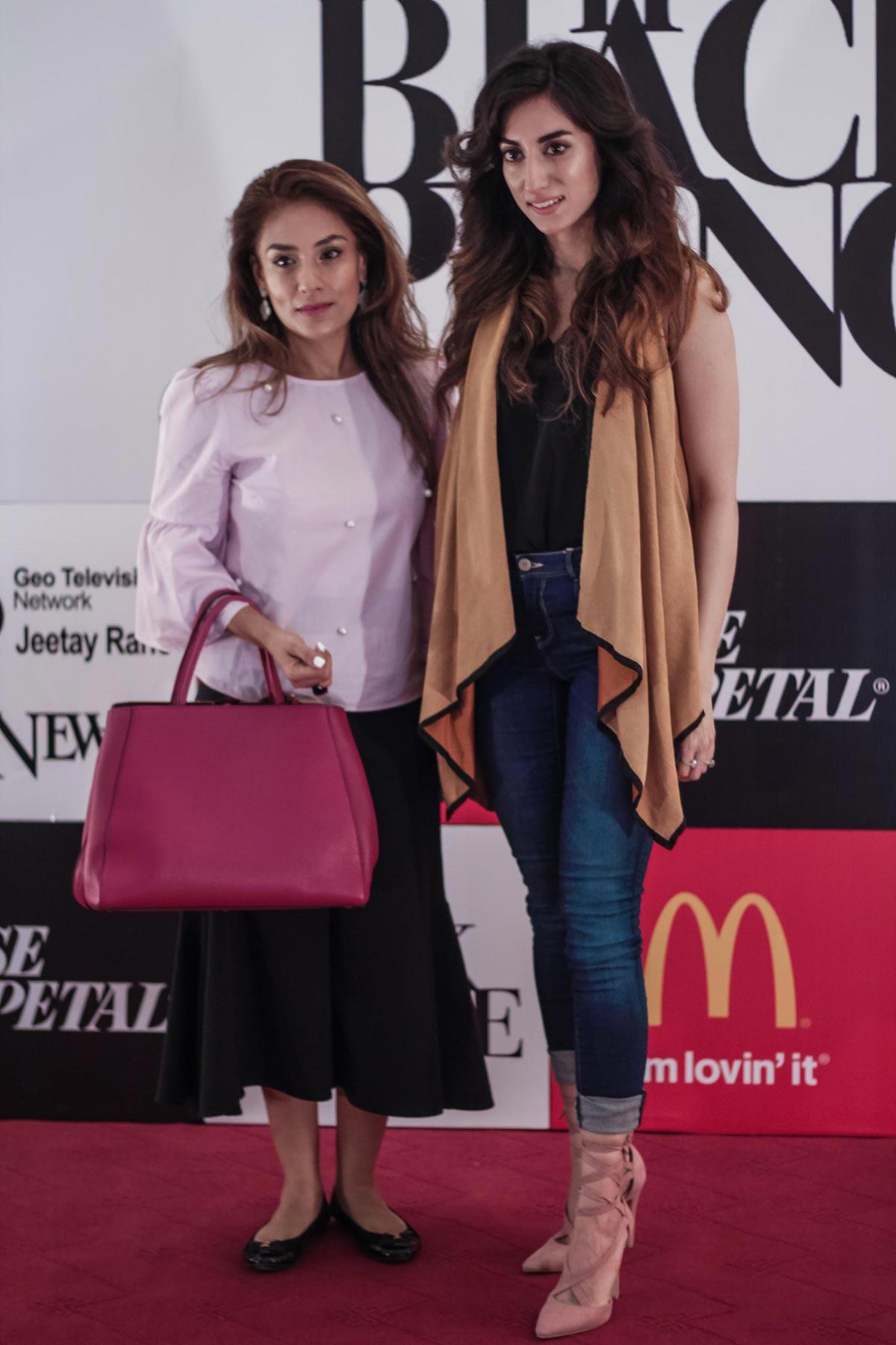 Zehra Gilani and Sahar Noon